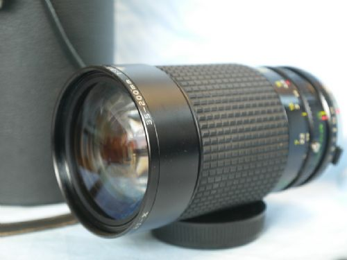 '  35-200mm ' Olympus OM Fit 35-200mm Zoom Macro Lens £19.99
